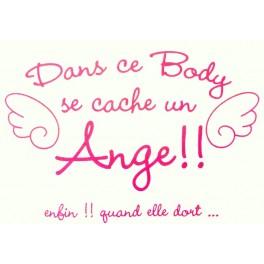 Body dans ce body se cache un ange