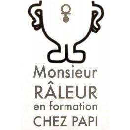 T-shirt Monsieur Râleur