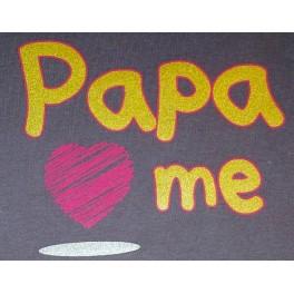 Sac a bébé Papa love me
