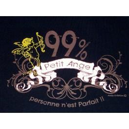 T-shirt 99% petit ange