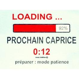 T-shirt loading prochain caprice