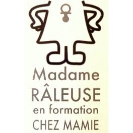 T-shirt Madame raleuse