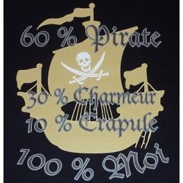 T-shirt  100% moi